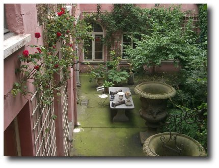 Antwerp apartment garden