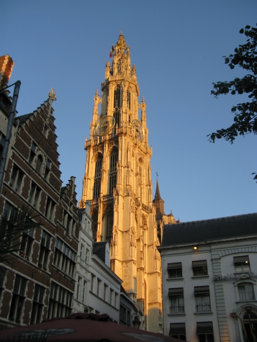 Sunset Spire, Cathedral of Our Lady, Antwerp