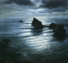 Nighttime Seascape by Joni